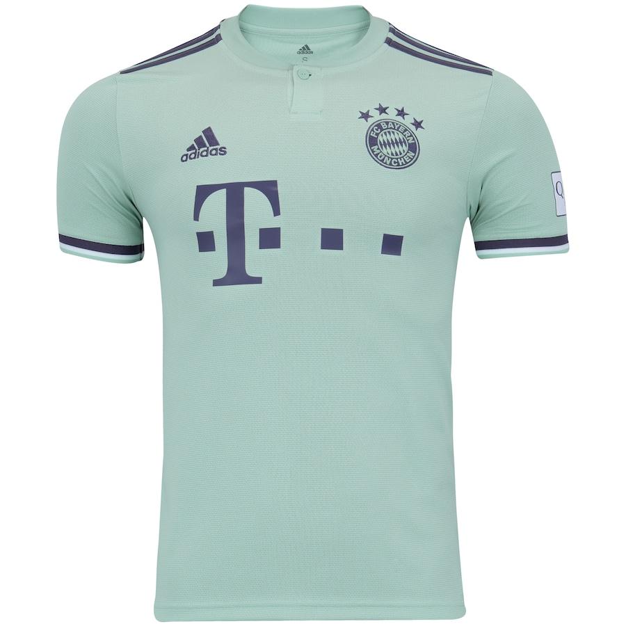 Camisa Bayern de Munique II 18 19 adidas - Masculina 652c1b6dce246