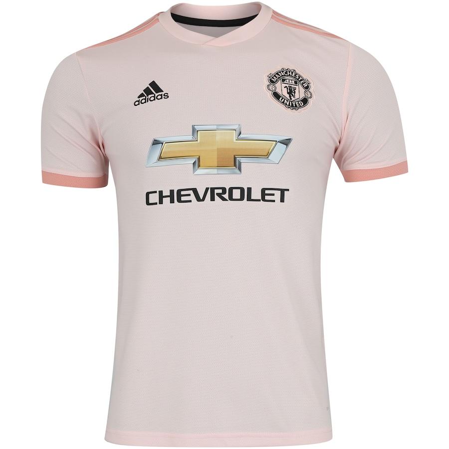 384ca78490 Camisa Manchester United II 18 19 adidas - Masculina