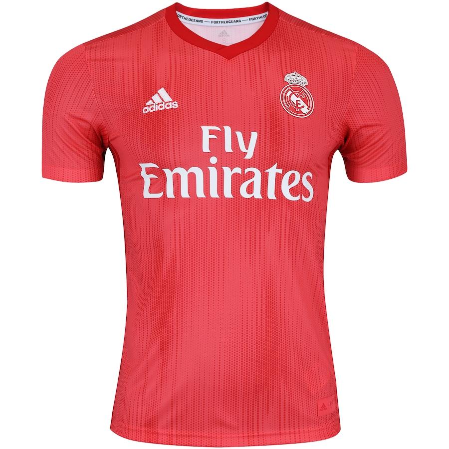 Camisa Real Madrid III 18 19 adidas - Masculina 6e30c8230ea69