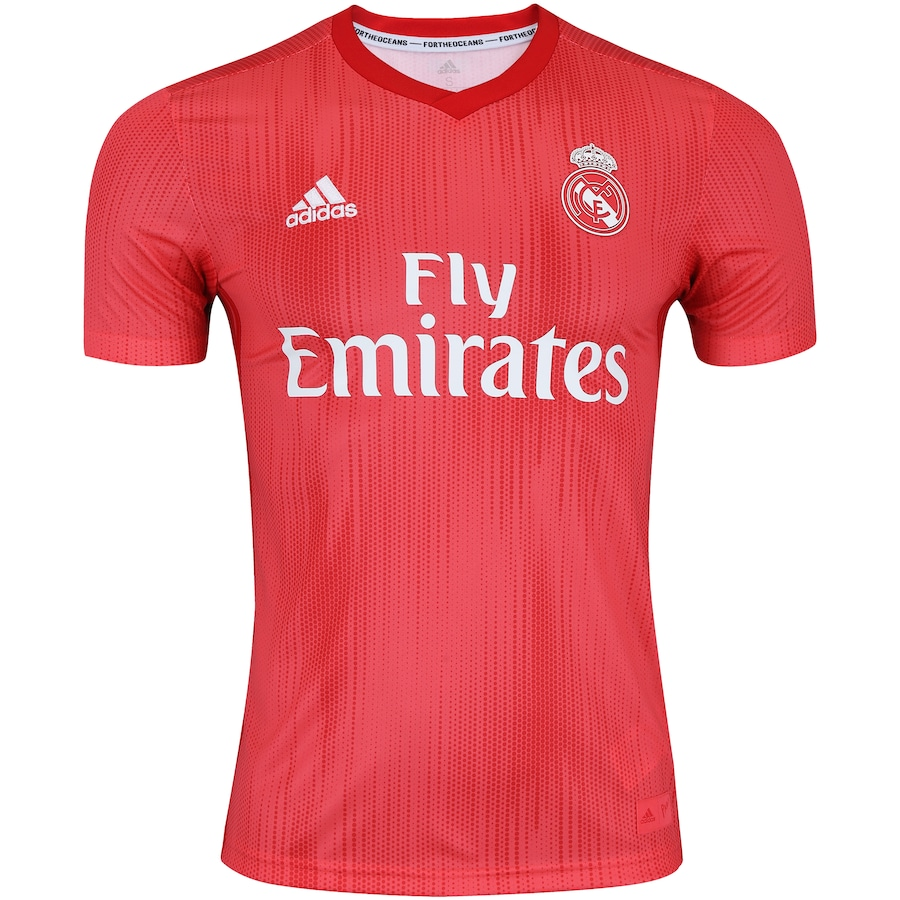 Camisa Real Madrid III 18 19 adidas - Masculina 4002b70fe045e