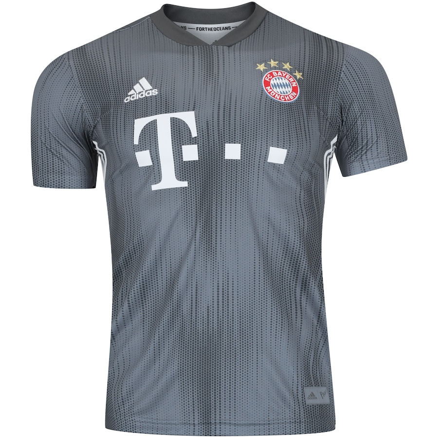 Camisa Bayern de Munique III 18 19 adidas - Masculina ea0d462d29420