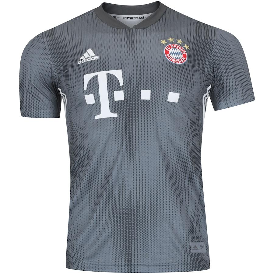 80b34878b2 Camisa Bayern de Munique III 18/19 adidas - Masculina