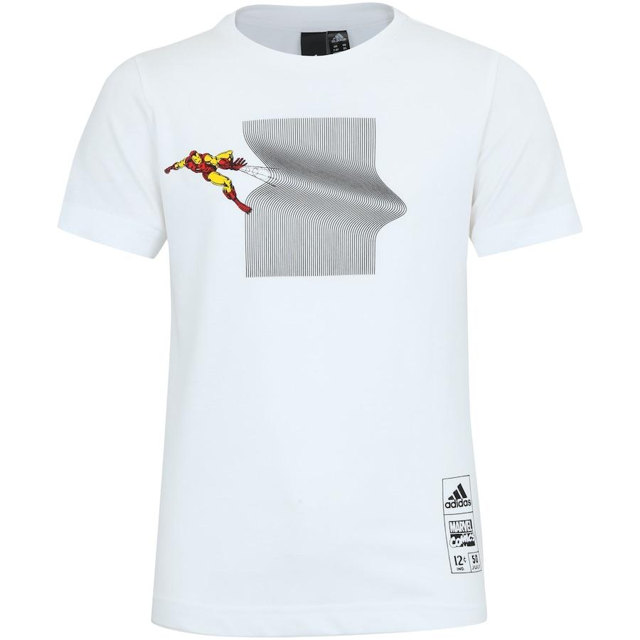 61bf22116d8b0 Camiseta adidas Homem de Ferro - Infantil