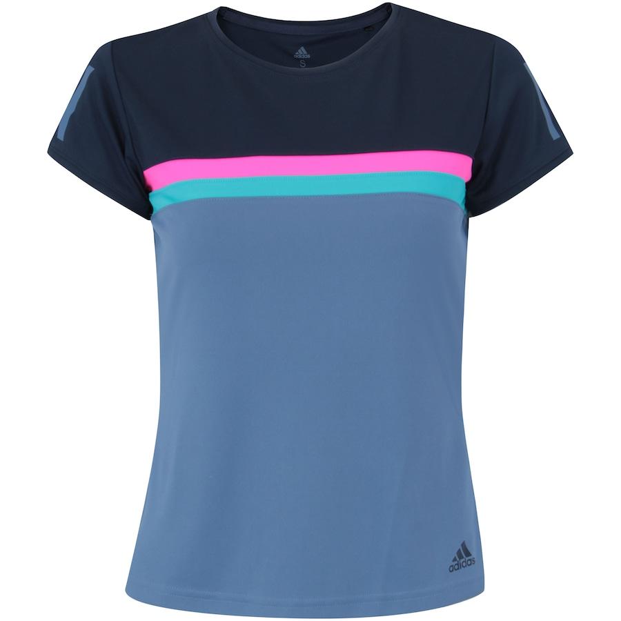 934c5f2c0f750 Camiseta com Proteção Solar UV adidas Club Tee - Feminina
