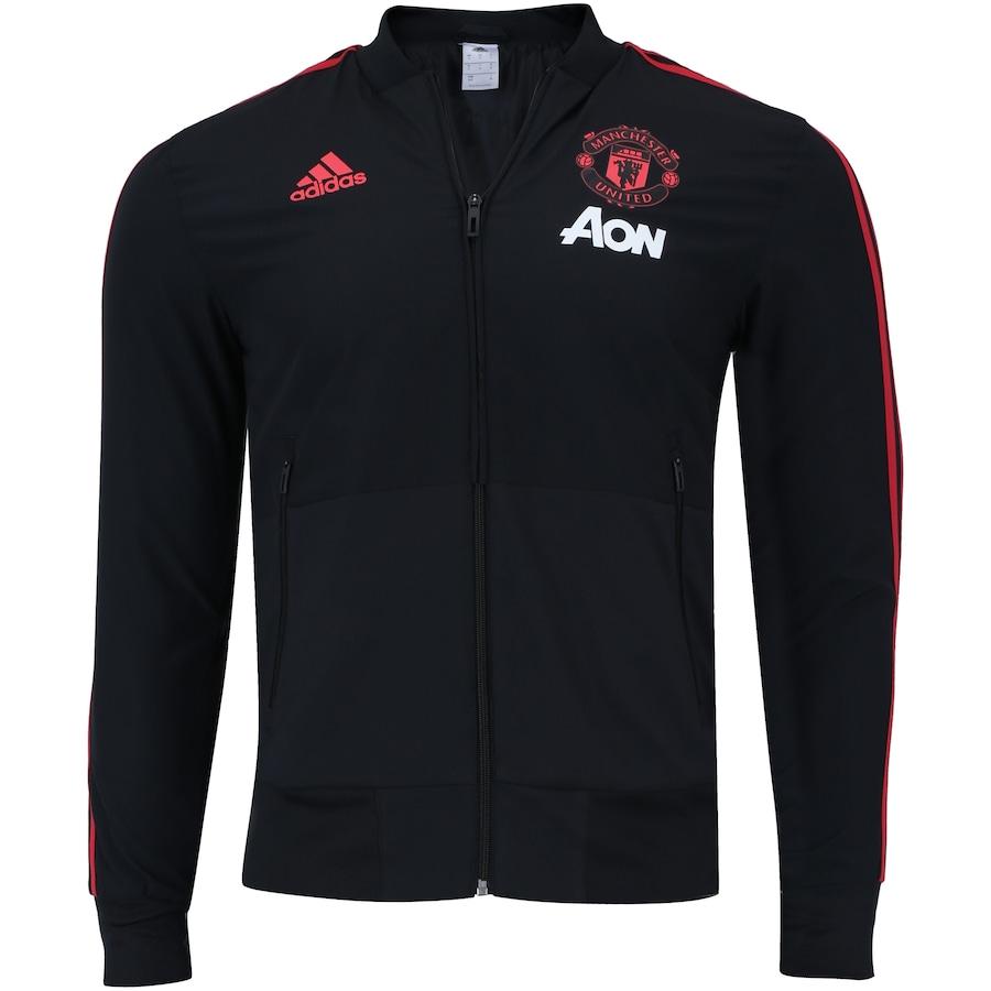 7e2d8552550ba0 Jaqueta Pré-Jogo Manchester United 18/19 adidas - Masculina