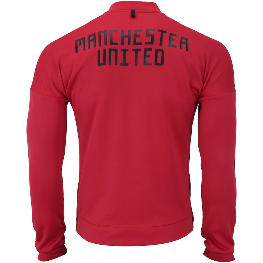 6986d988f Jaqueta Manchester United 18 19 ZNE adidas - Masculina