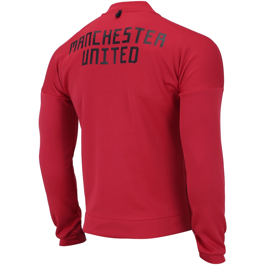 1f74daaddcbe04 Jaqueta Manchester United 18/19 ZNE adidas - Masculina