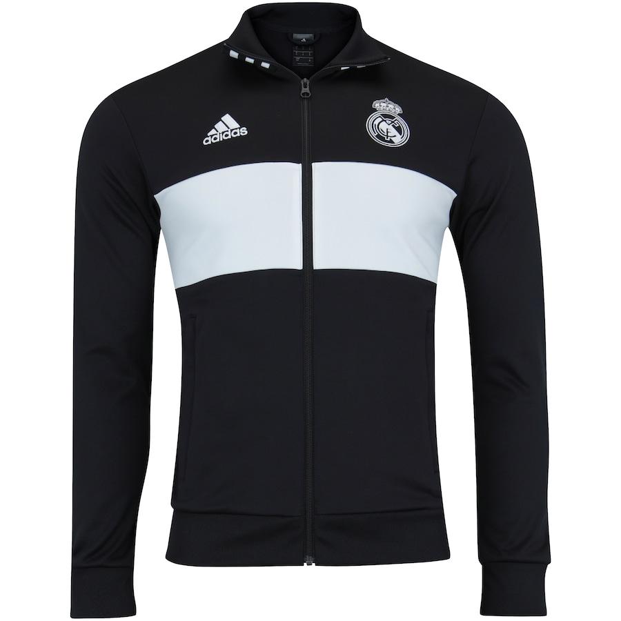 Jaqueta Real Madrid 3S 18 19 adidas - Masculina c1e5f70d8aefd