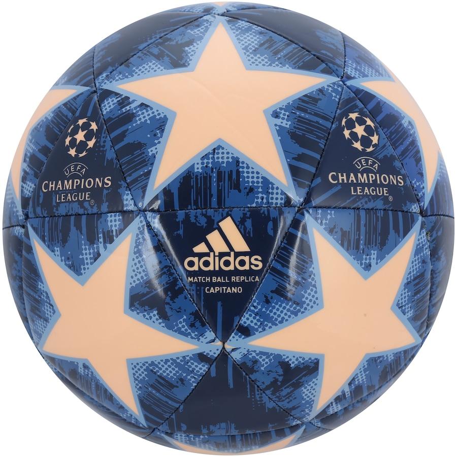 Bola de Futebol de Campo UEFA Champions League Finale 18 Capitano adidas 3641db729065c