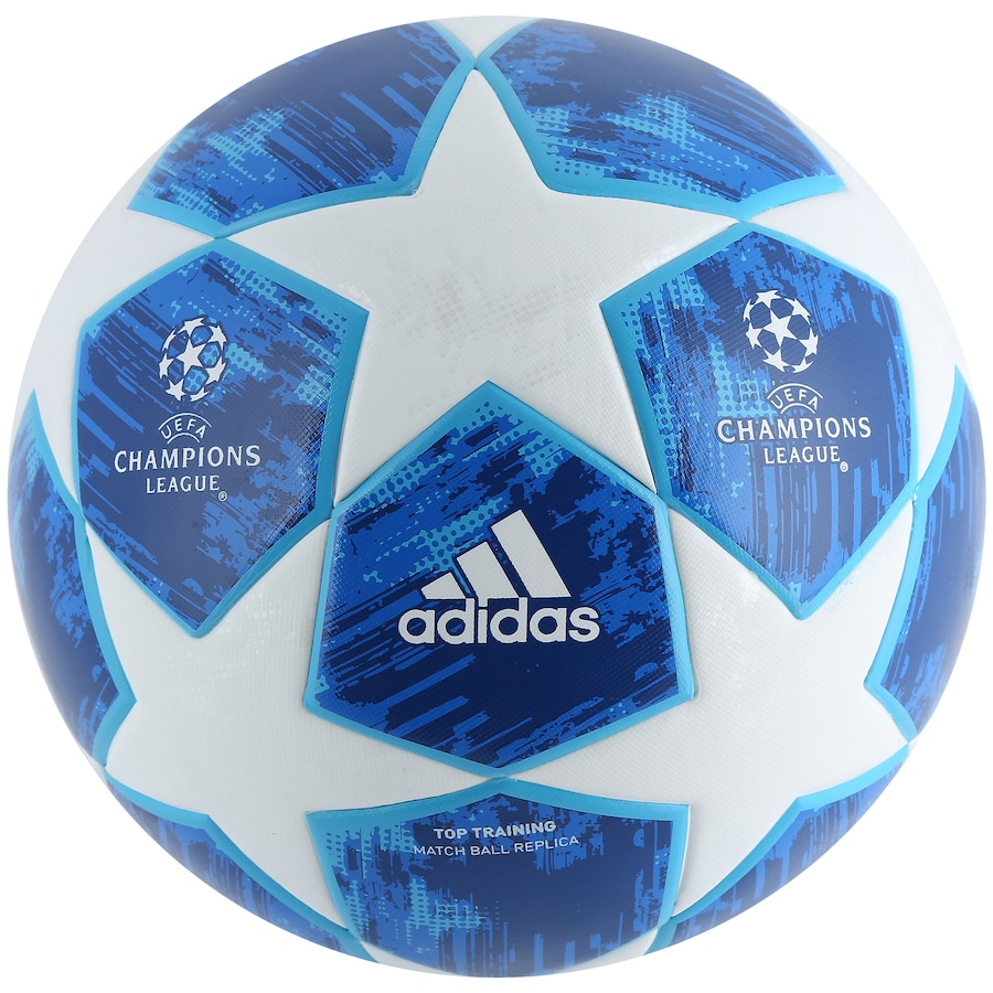 Bola de Futebol de Campo adidas Champions League Finale 18 Top Training f25f7913fd6bc