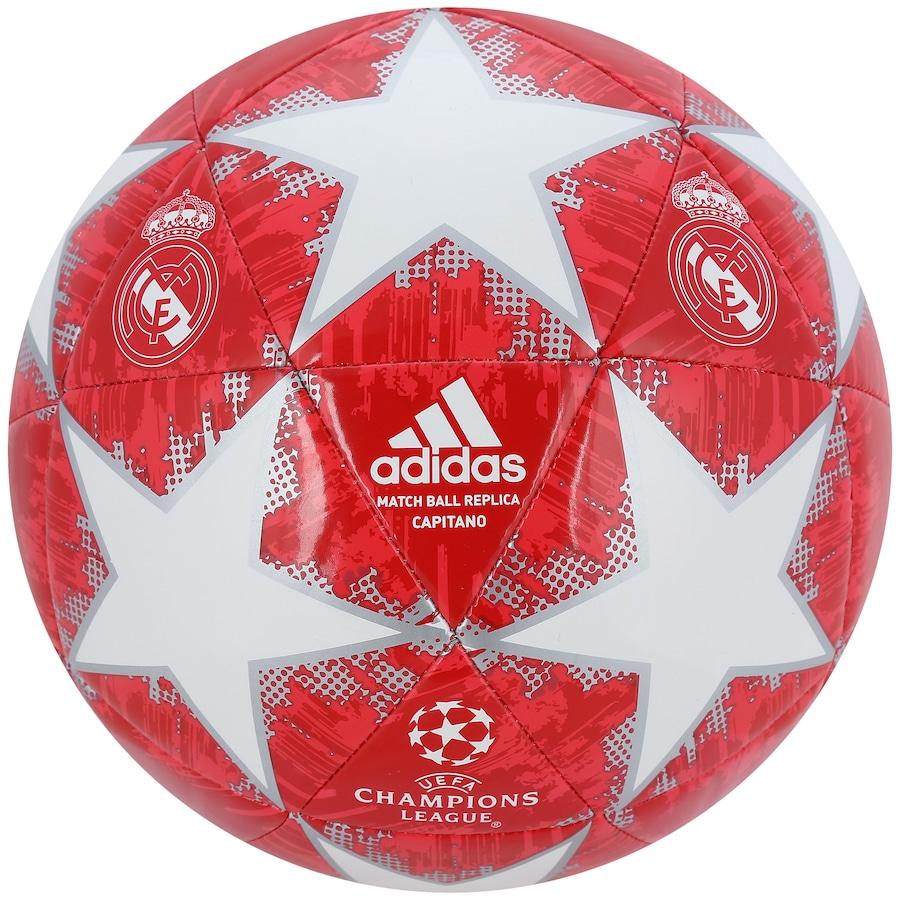 fd5c6c6ed1 Bola de Futebol de Campo Real Madrid Champions League Finale 18 adidas
