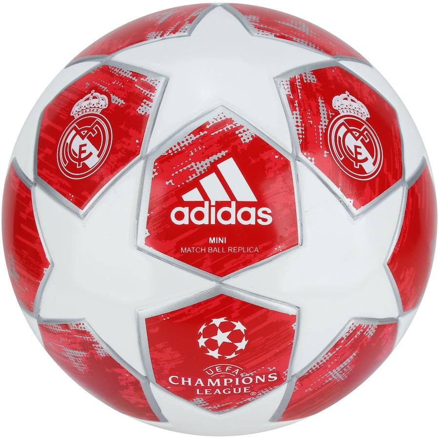 Minibola de Futebol de Campo adidas Finale 18 Real Madrid 9d22b9773d2f9