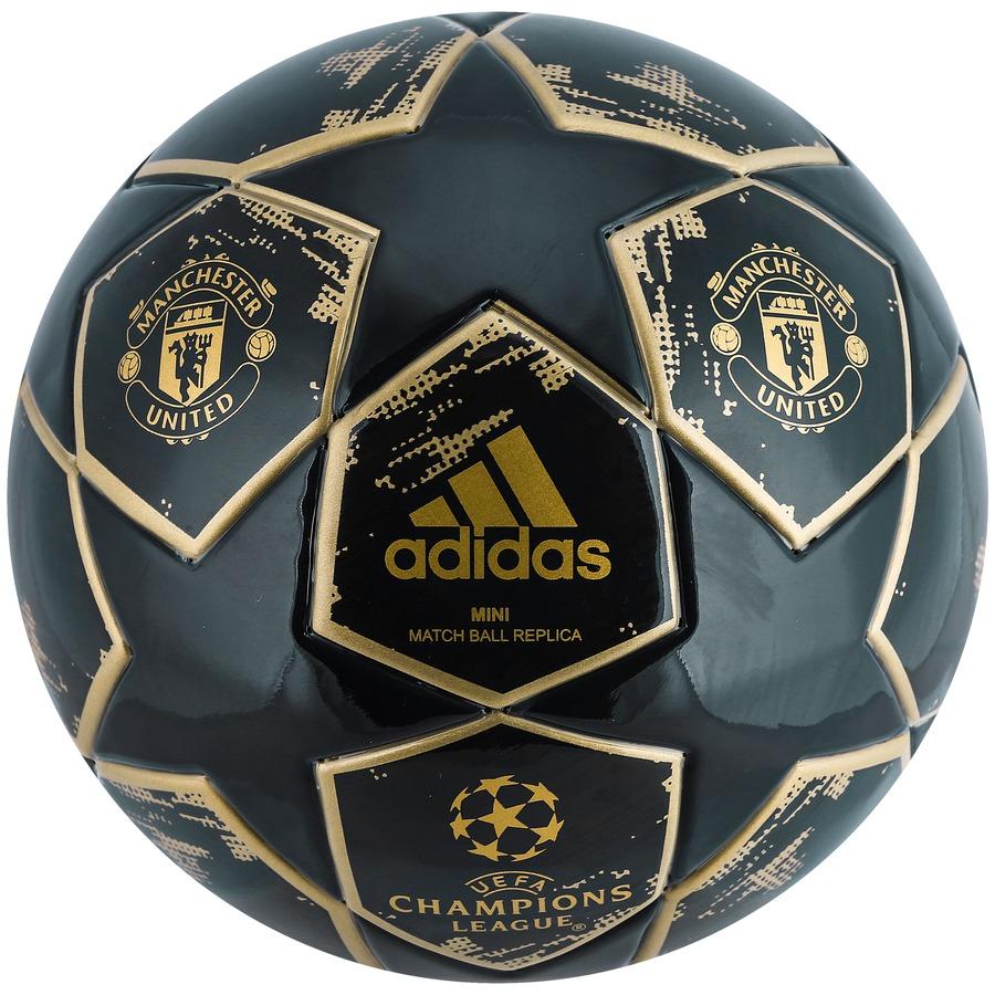 ab449ee03e Minibola de Futebol de Campo Manchester United Champions League Finale 18  adidas