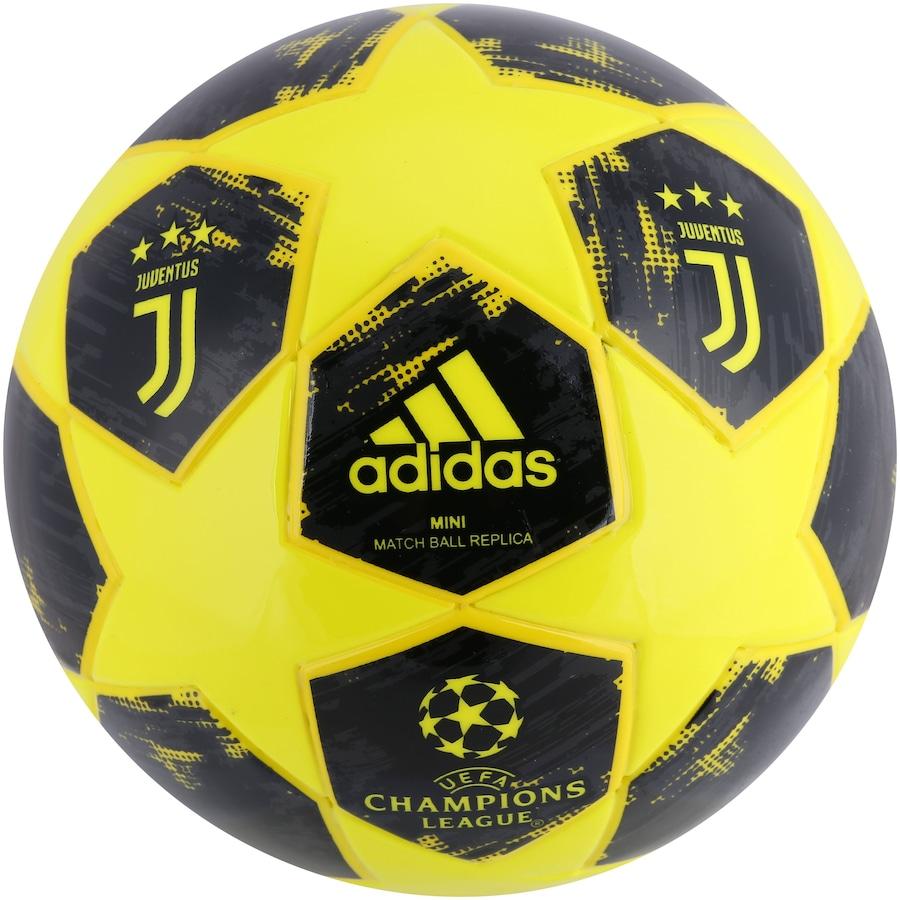 f4303b1e83 Minibola de Futebol de Campo Juventus Champions League Finale 18 adidas