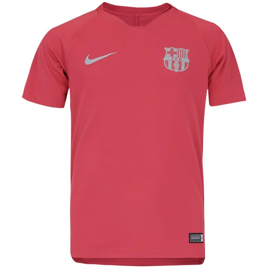Camisa de Treino Barcelona 18 19 Nike - Infantil e3b9c63afff