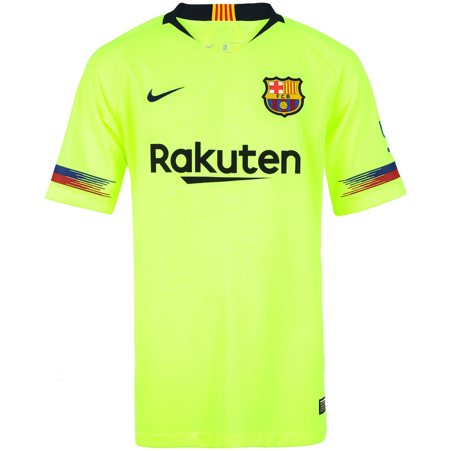 74db26ddd2abd Camisa Barcelona II 18 19 Nike - Infantil
