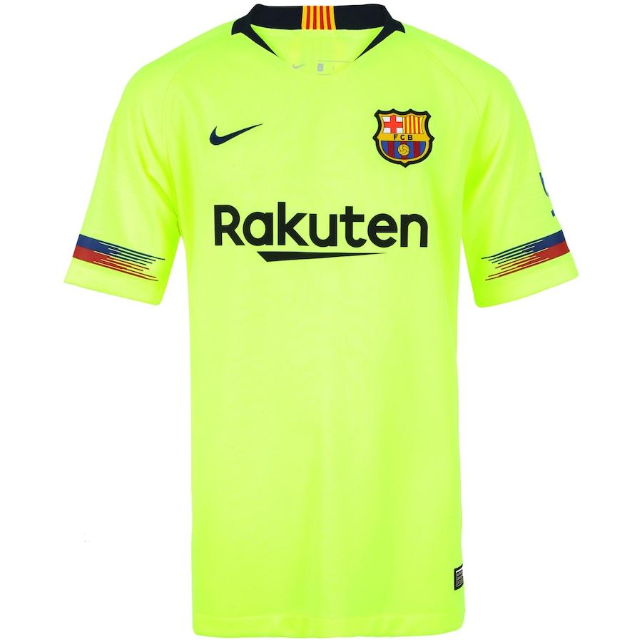81e28b35e3 Camisa Barcelona II 18 19 Nike - Infantil