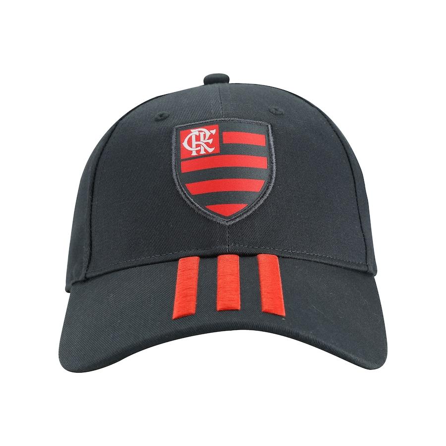 Boné Aba Curva do Flamengo 3S CAP adidas - Strapback - Adulto c1244da1f40