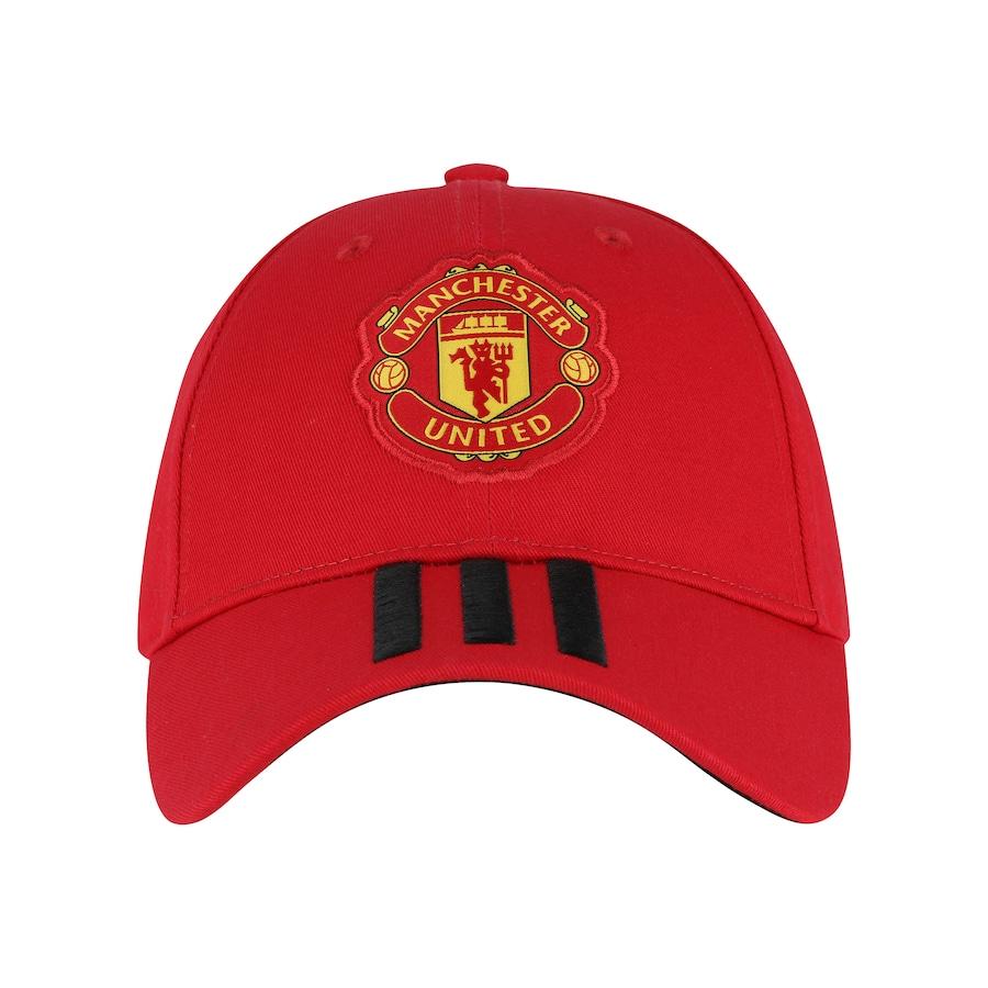 06d6652c8 Boné Aba Curva Manchester United 3S adidas - Strapback - Adulto
