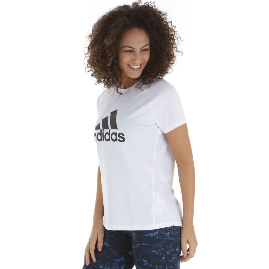 2e7212b9029 Camiseta adidas D2M Logo Tee - Feminina