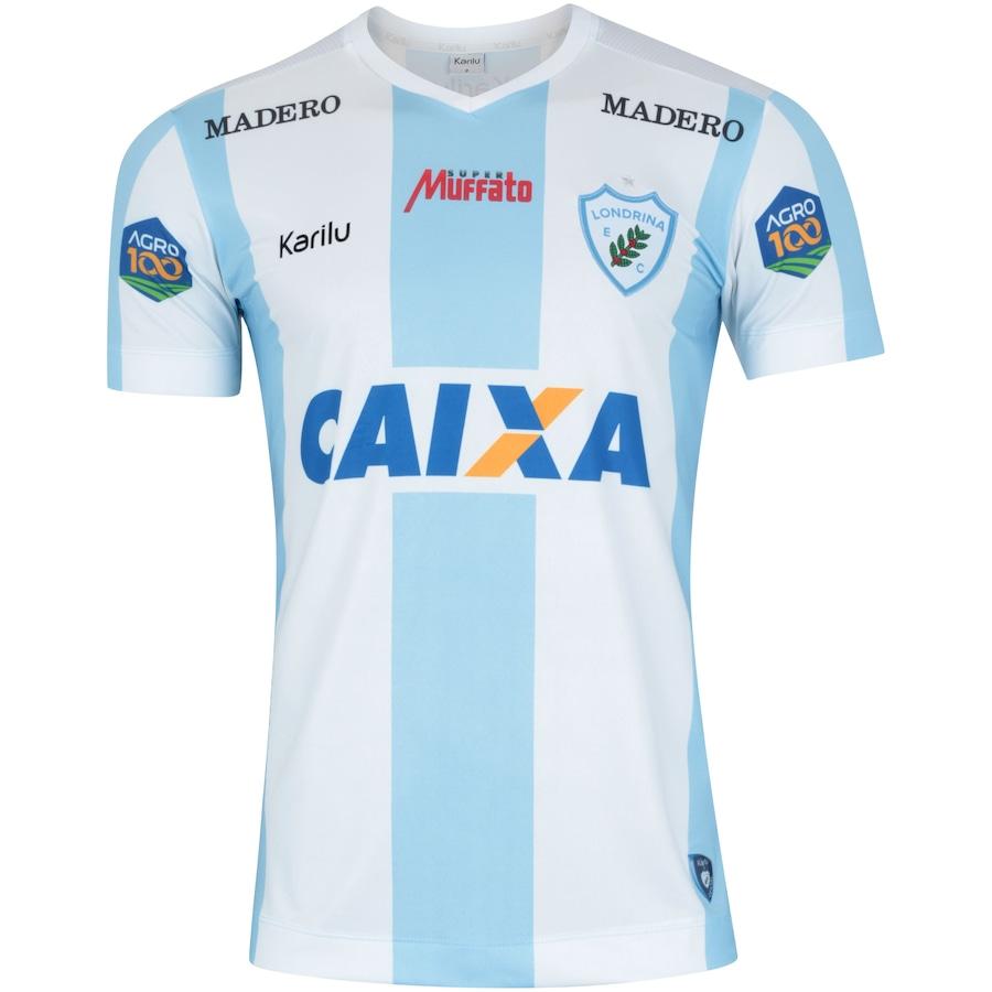 230859f81e Camisa do Londrina I 2018 nº 10 Karilu - Masculina