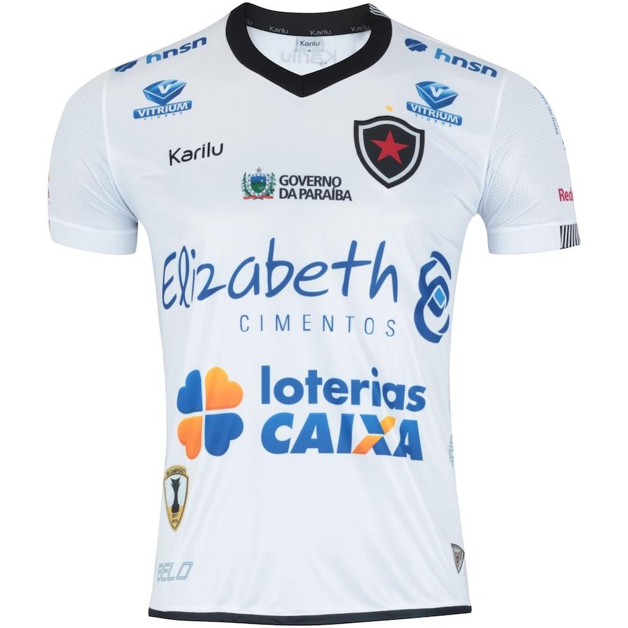 Camisa do Botafogo-PB II 2018 nº 10 Karilu - Masculina 16f085d5ae02d