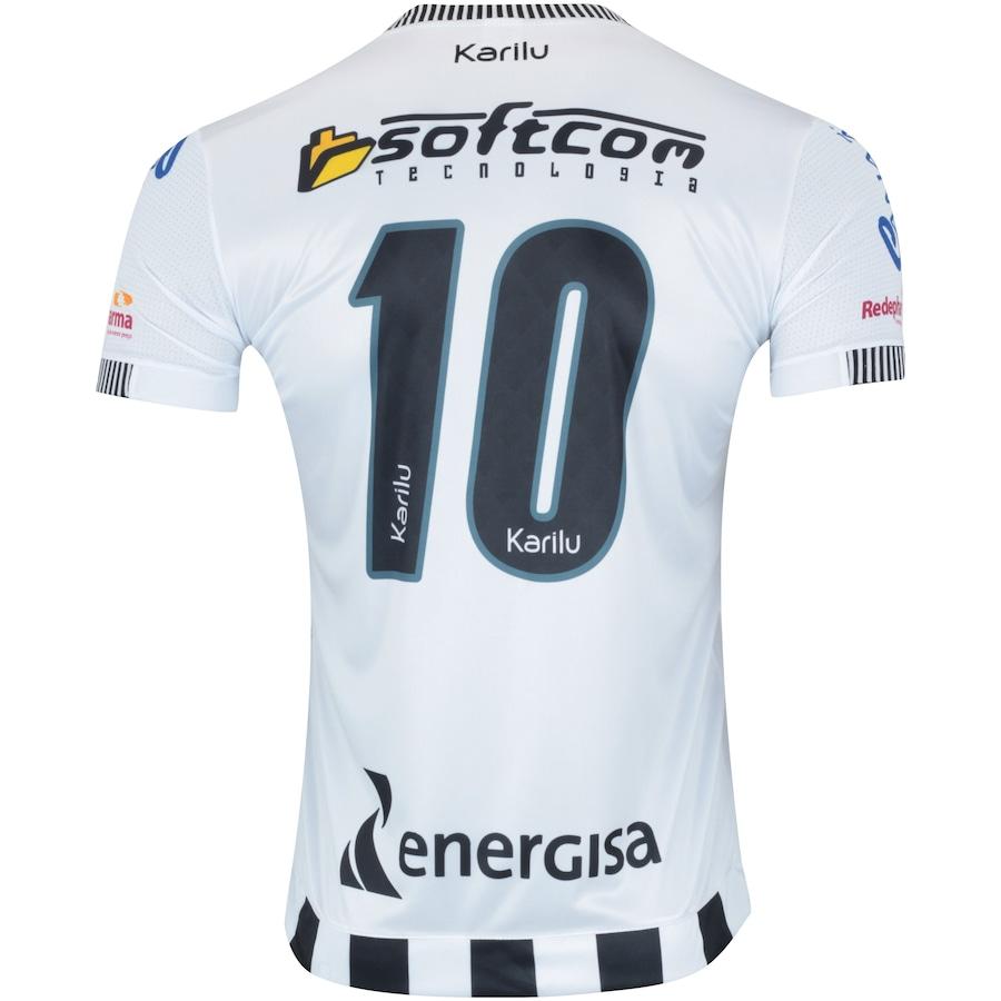 c39d7fd1e8 Camisa do Botafogo-PB II 2018 nº 10 Karilu - Masculina