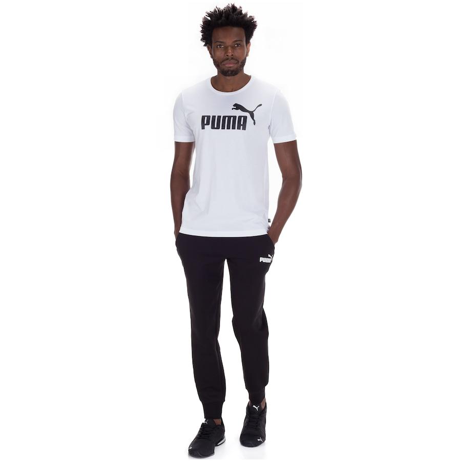 0e25ff2d34e5b Camiseta Puma Essentials Logo - Masculina