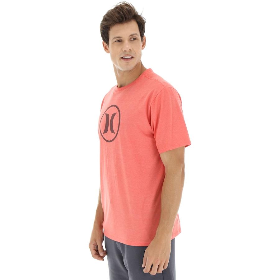 Camiseta Hurley Silk Círculo - Masculina fe1876e054e