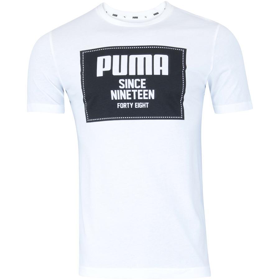 c395f7e2a Camiseta Puma Rebel Block Basic - Masculina