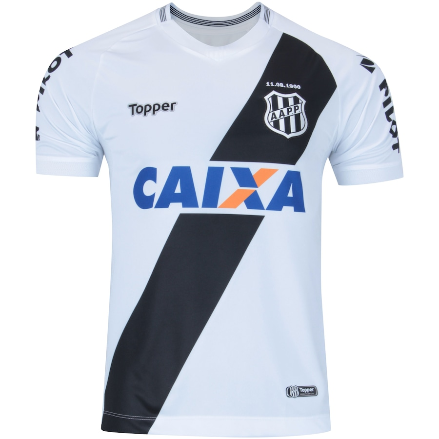 407f75560e Camisa da Ponte Preta I 2018 Topper - Masculina