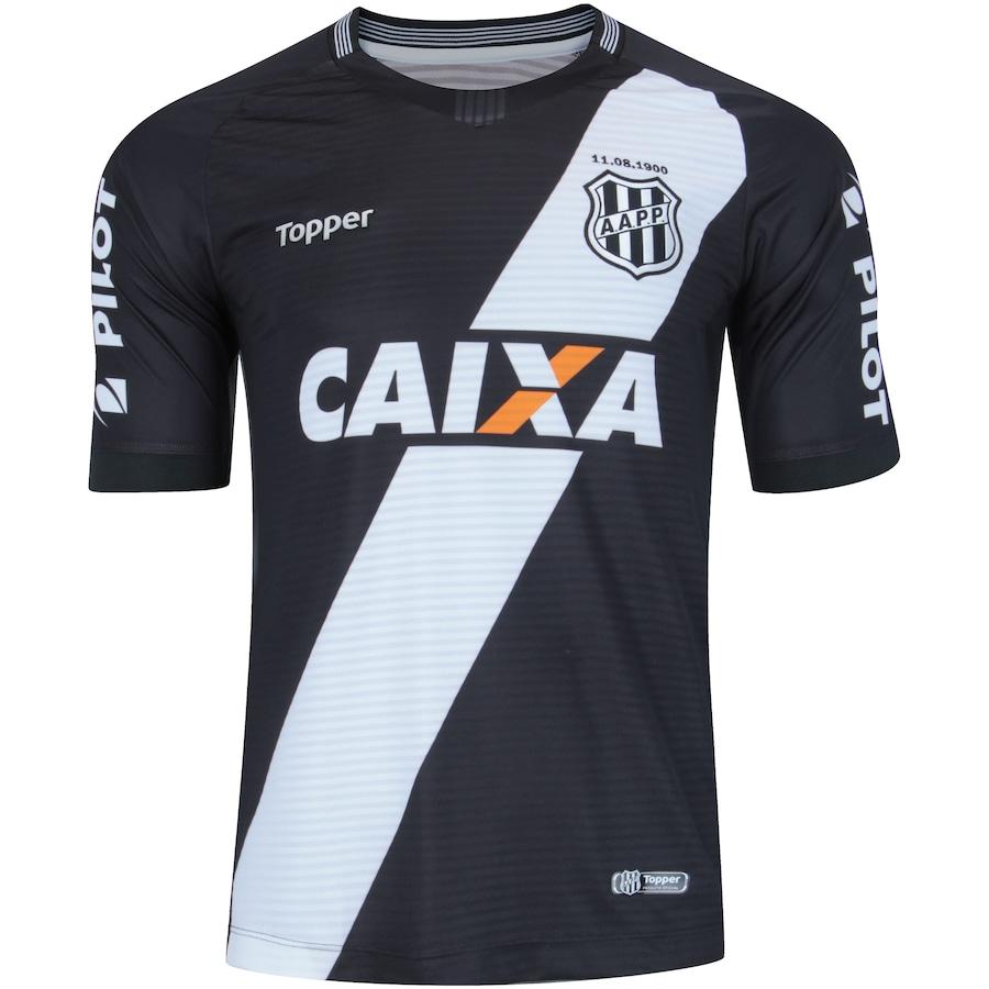 7083175d2ff98 Camisa da Ponte Preta II 2018 Topper - Masculina