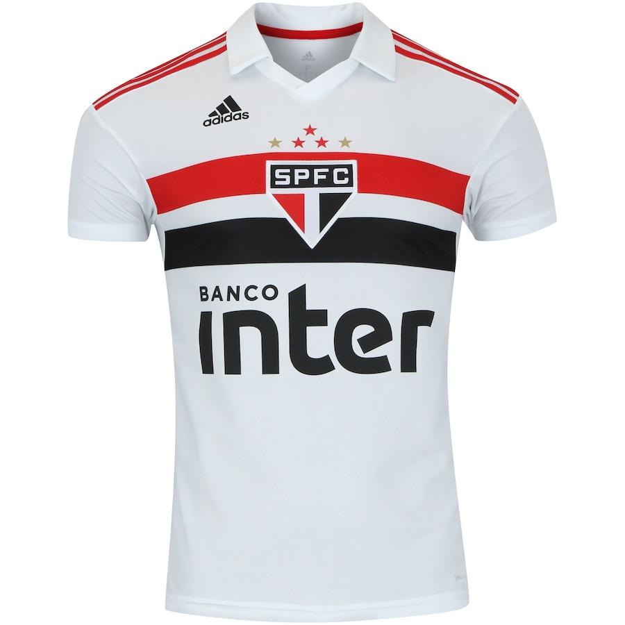 eb5fe2da48 Camisa do São Paulo I 2018 adidas - Masculina