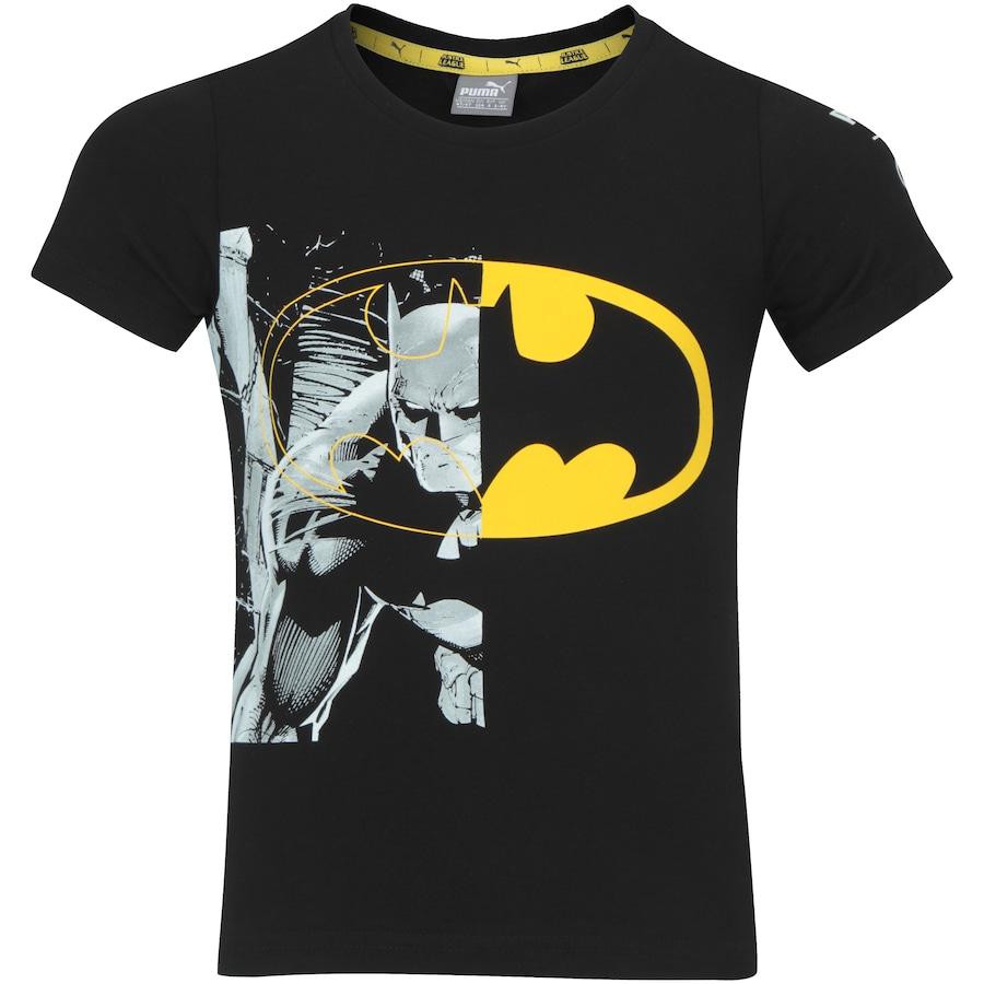 3e5f4fa51fa Camiseta Puma Liga da Justiça - Infantil