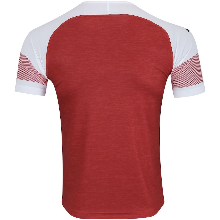 Camisa Arsenal I 18 19 Puma - Masculina 6d8aa5e5b828a