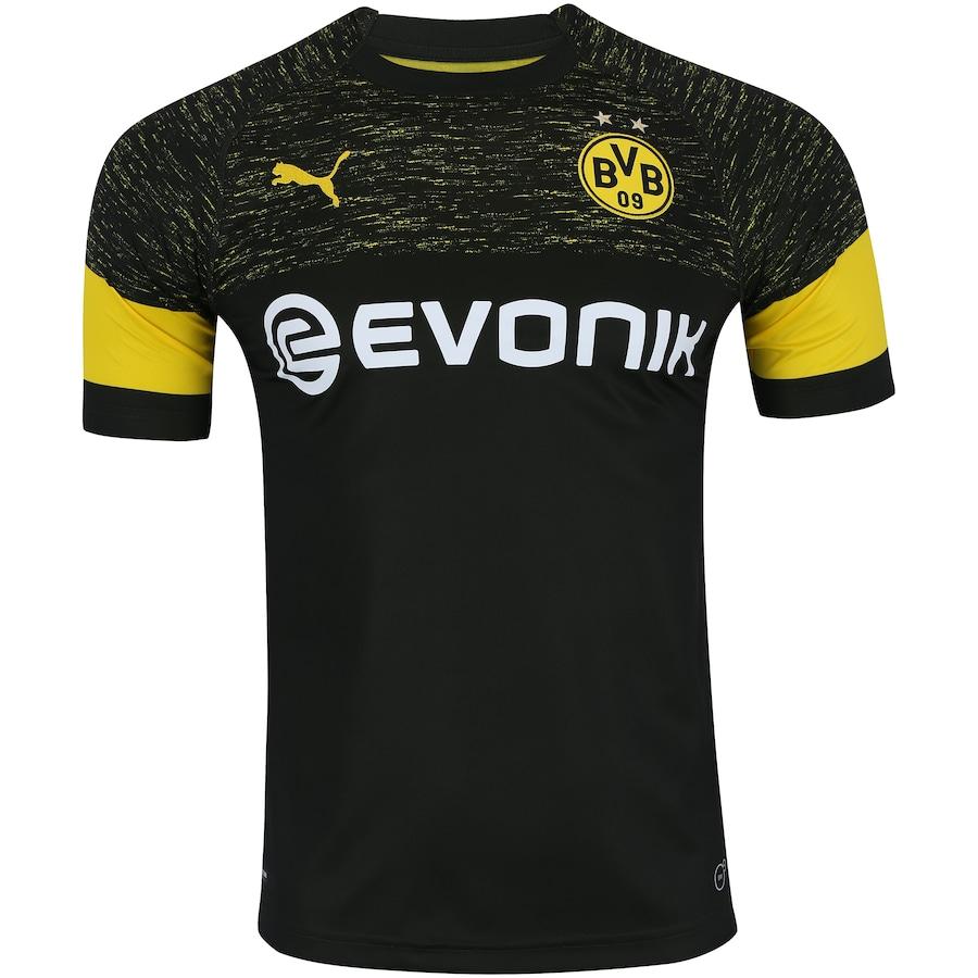 Camisa Borussia Dortmund II 18 19 Puma - Masculina 1add594f5b4e6