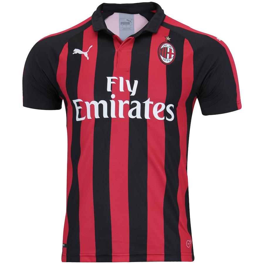 a6dd3d079f2d9 Camisa Milan I 18 19 Puma - Masculina