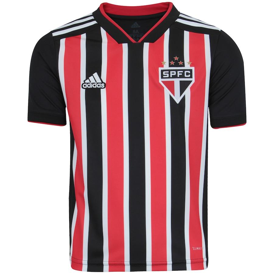 Camisa do São Paulo II 2018 adidas - Infantil 865c2a4fe4a99