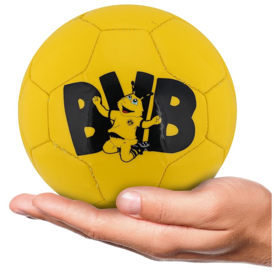 Minibola de Futebol de Campo Borussia Dortmund 18 19 Graphic Puma 042533deda