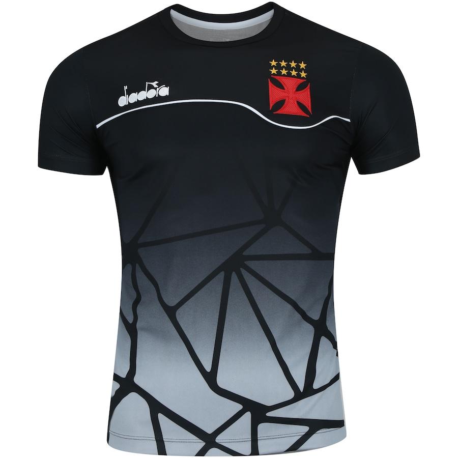 Camisa do Vasco da Gama Concentração 2018 Diadora - Masculina 21a3df54d5449