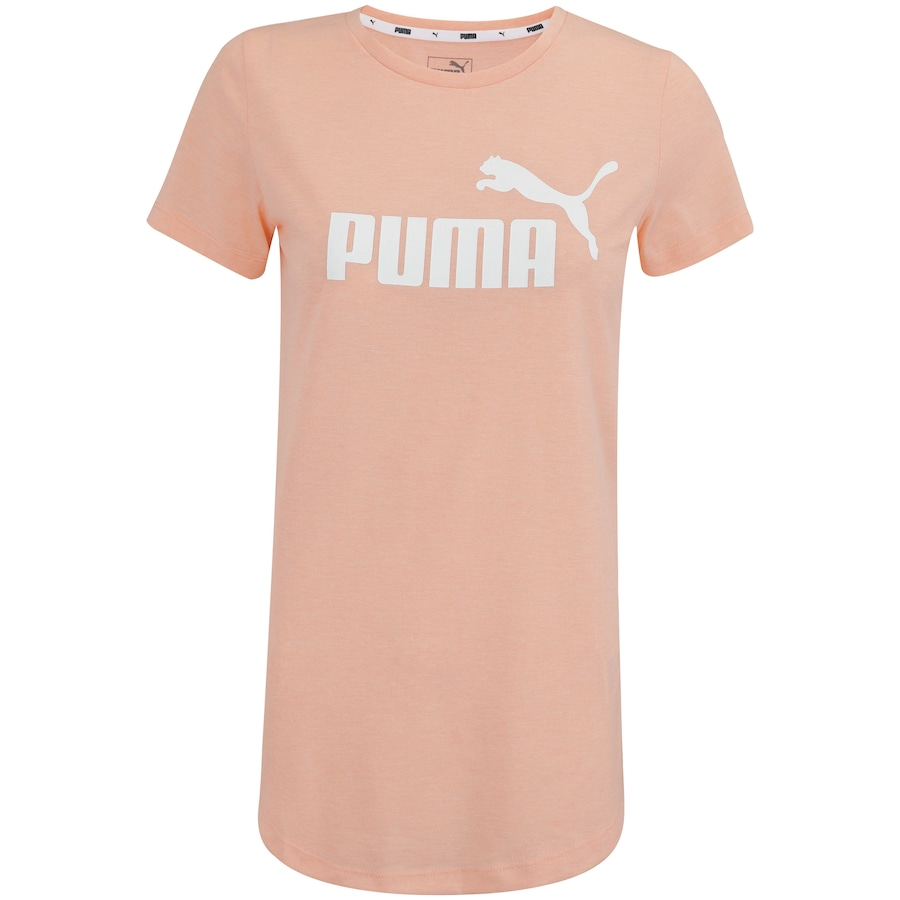 a662de1c29 Camiseta Puma Elevated Ess Logo Heather - Feminina