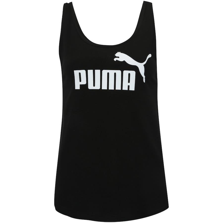 ae115ece46 Camiseta Regata Puma Essentials Logo Tank - Feminina