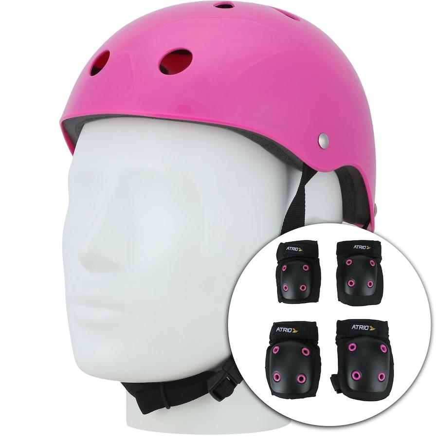 7da36231c Kit de Proteção Atrio com 1 Par de  Joelheiras + Cotoveleiras + 1 ...