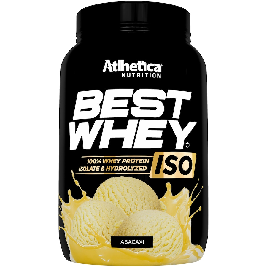 Whey Protein Atlhetica Abacaxi ISO Best - 900g