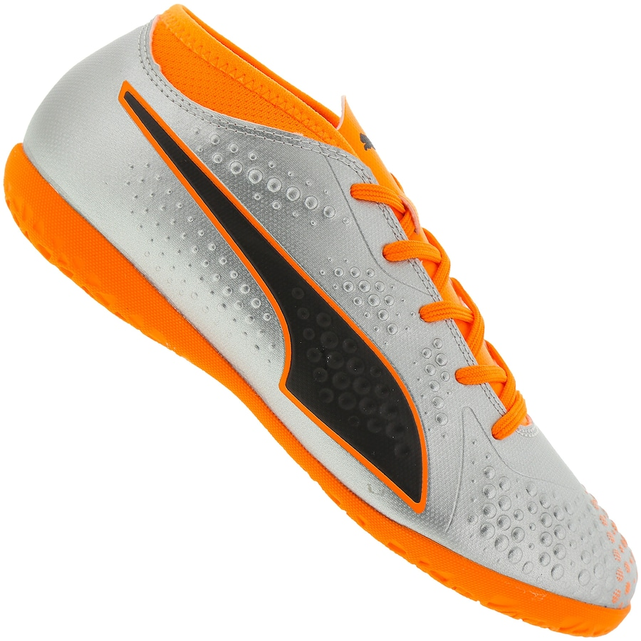 Chuteira Futsal Puma One 4 Syn IC - Infantil eacf8dbce56bd