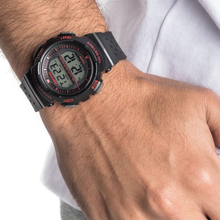 0d56f04379c Relógio Digital Mormaii MO3650 - Masculino