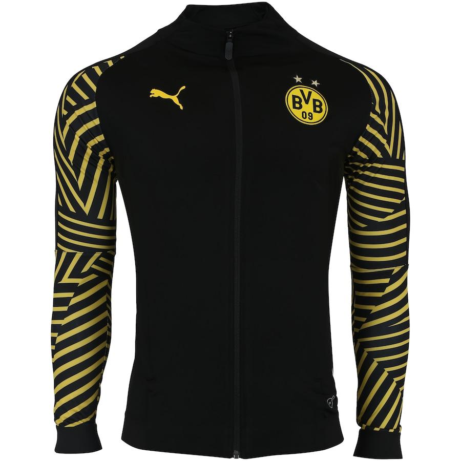 e6c6e22351e61 Jaqueta Borussia Dortmund Stadium 18 19 Puma - Masculina