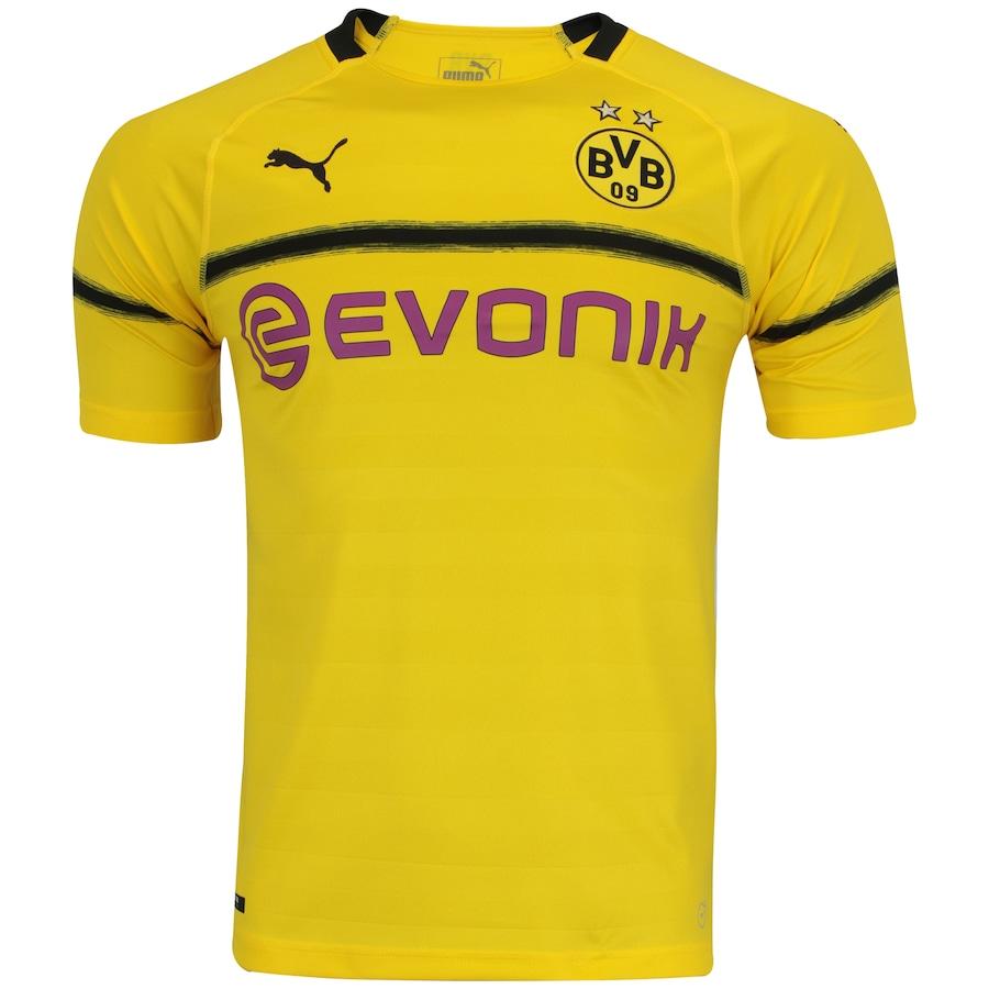 Camisa Borussia Dortmund III 18 19 Puma - Masculina 209a9a491a73b