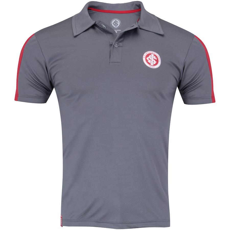 Camisa Polo do Internacional Faixa Meltex - Masculina 368d5c3340cab