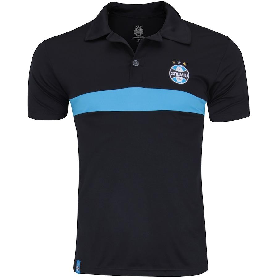 Camisa Polo do Grêmio Faixa Meltex - Masculina b5f153c703212
